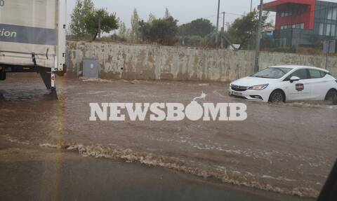 Κακοκαιρία: Χάος στους δρόμους της Αθήνας - Έκτακτη προειδοποίηση της ΕΜΥ για τις επόμενες ώρες
