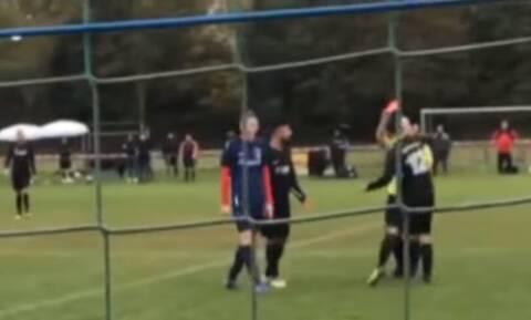 Διαιτητής έδειξε κόκκινη σε παίκτη - Δεν θα πιστεύετε την αντίδρασή του (vid)