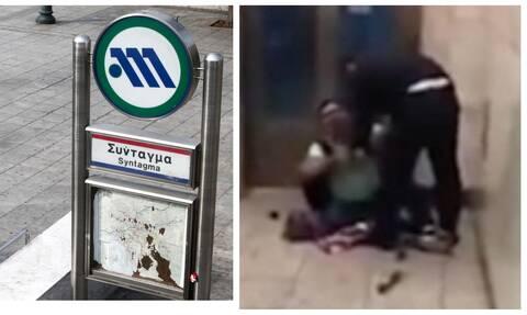 Σύνταγμα: Σάλος στα social media για τη σύλληψη μικροπωλητή on camera στο μετρό