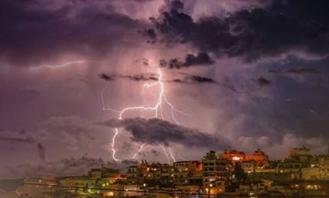 Κρήτη: Εικόνες που κόβουν την ανάσα από την κακοκαιρία (pics)