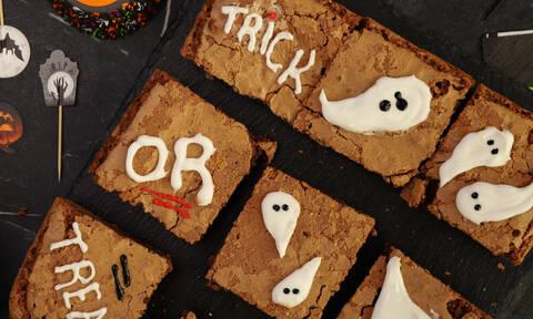 Η συνταγή της ημέρας: Halloween brownies με φυστικοβούτυρο
