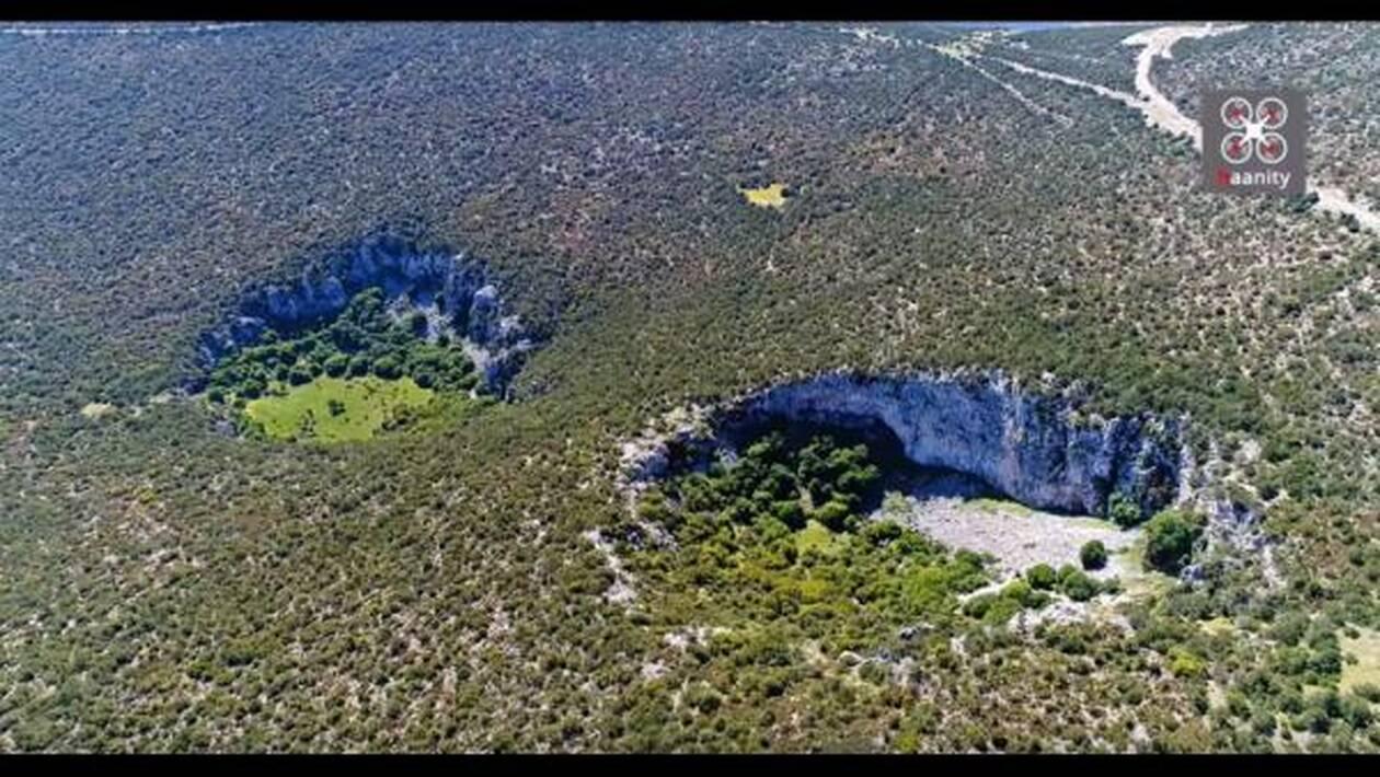 Αργολίδα: Εικόνες «Αποκάλυψης» με γιγαντιαίους κρατήρες - Τι λένε οι επιστήμονες....