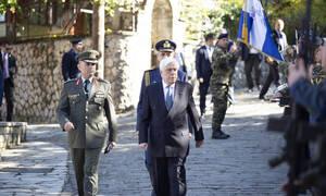 Προκόπης Παυλόπουλος: «Είμαστε έτοιμοι να υπερασπισθούμε τα σύνορα και το έδαφος της πατρίδας μας»