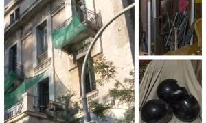 «Σφράγισαν» το υπό κατάληψη κτήριο δίπλα στην ΑΣΟΕΕ – Τι βρήκε η ΕΛ.ΑΣ. (pics+vid)