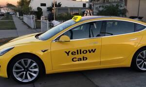 To Tesla Model 3 γίνεται ταξί στη Νέα Υόρκη