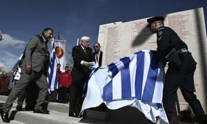 Παυλόπουλος: ΝΑΤΟ και ΕΕ έχουν χρέος να θυμούνται τη συνεισφορά μας στους αγώνες για την Ελευθερία
