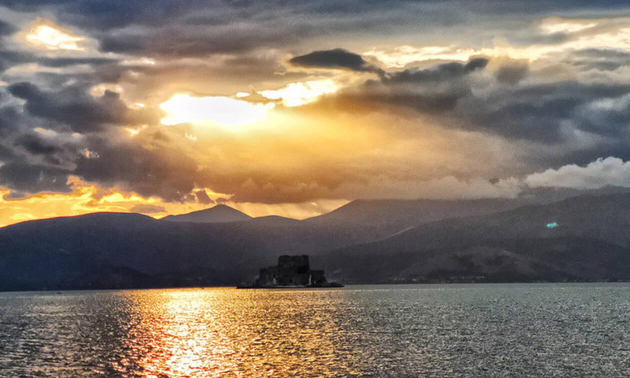 Αργολίδα: Ηλιοβασίλεμα βγαλμένο από πίνακα ζωγραφικής (pics)