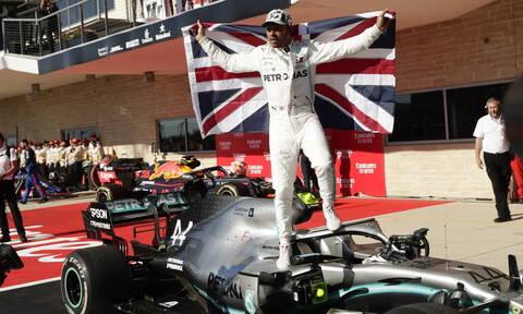 Formula 1: Παγκόσμιος πρωταθλητής για 6η φορά ο Λιούις Χάμιλτον (pics+vid)