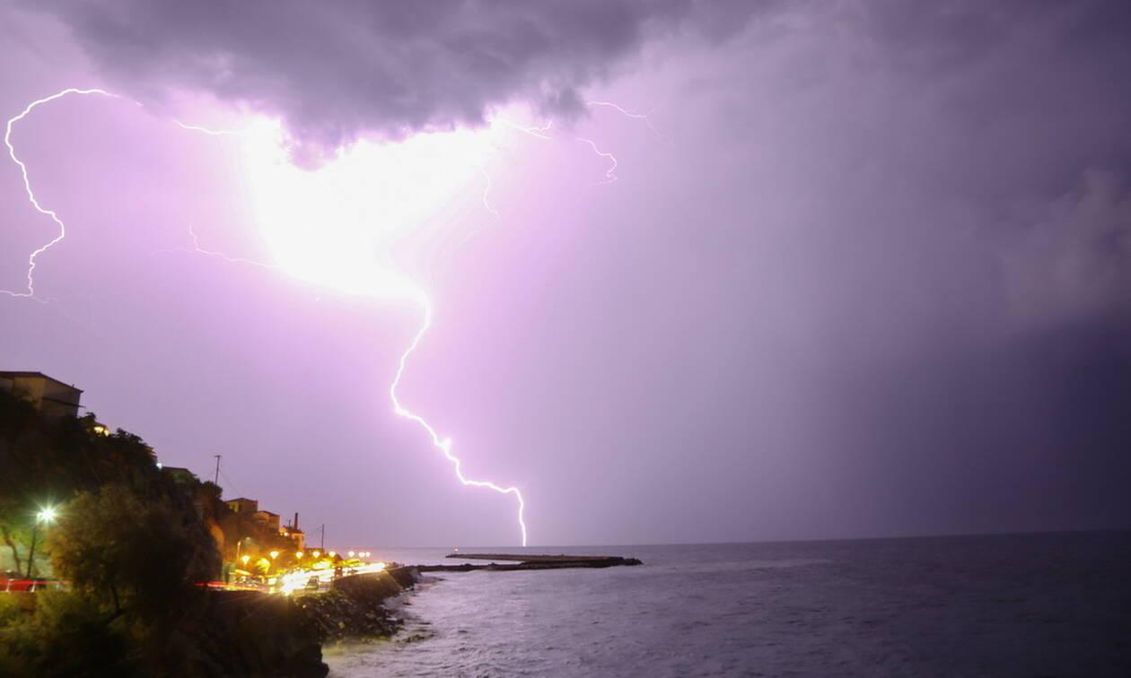 Καιρός: Η εξέλιξη της κακοκαιρίας τις επόμενες ώρες - Πού θα σημειωθούν καταιγίδες τη Δευτέρα