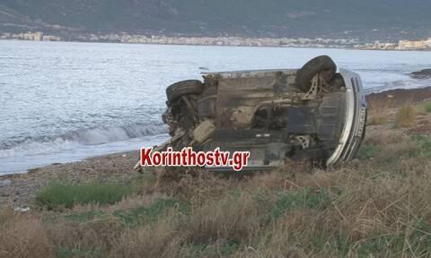 Τροχαίο - σοκ στην Κόρινθο: ΙΧ «έπεσε» σε κολόνα - Νεκρός ο οδηγός