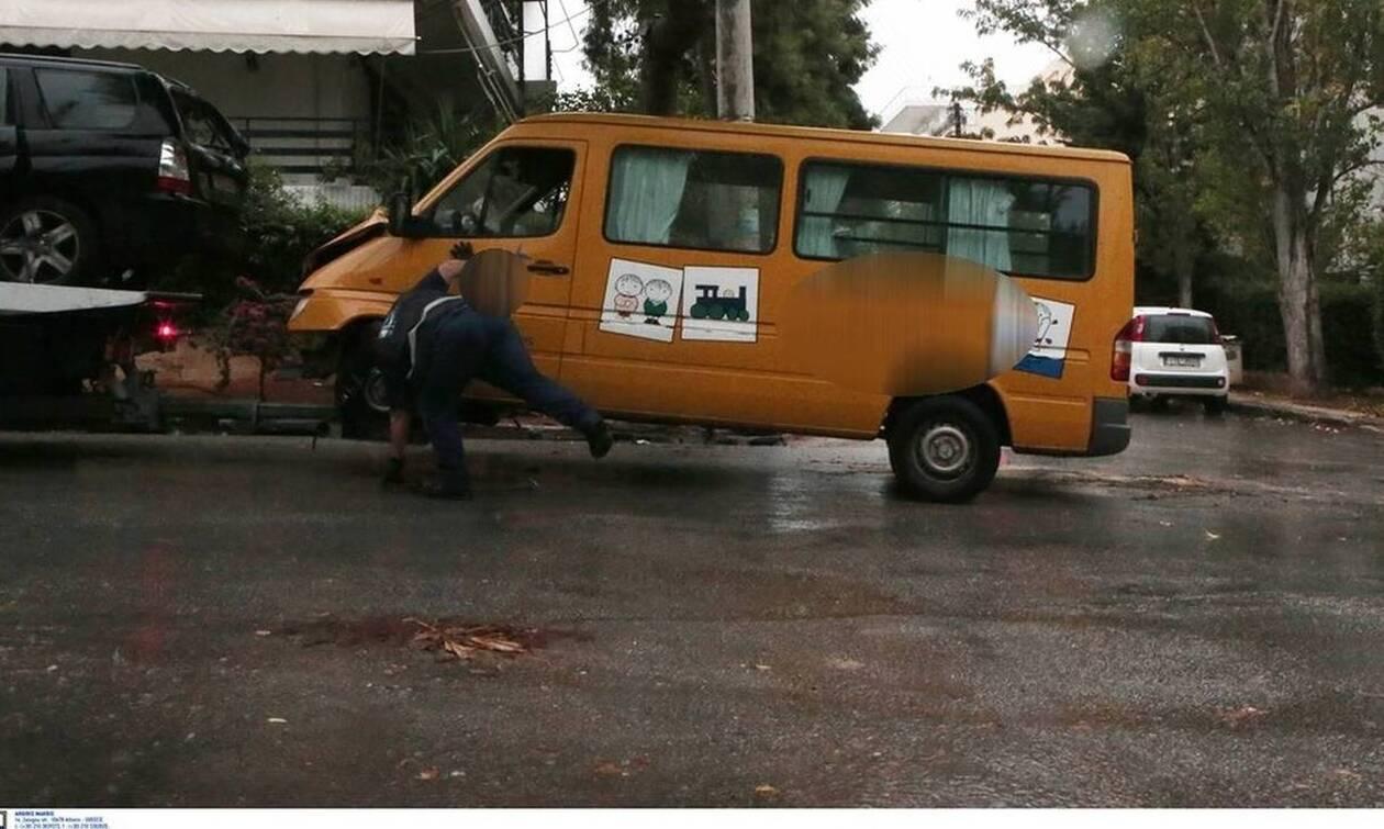 Βούλα: Βίντεο ντοκουμέντο από το ατύχημα με το σχολικό – Δύο παιδιά θα παραμείνουν στο νοσοκομείο