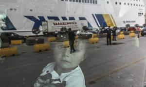 Περισσότεροι από 150 πρόσφυγες και μετανάστες στο λιμάνι του Πειραιά