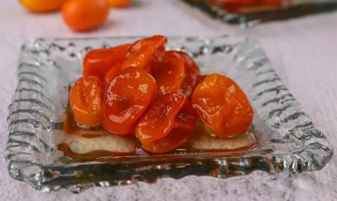 Η συνταγή της ημέρας: Γλυκό του κουταλιού κουμκουάτ