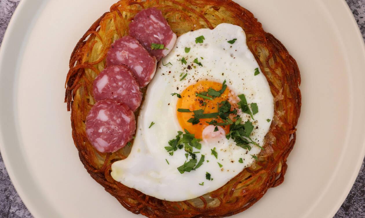 Λαχταριστή συνταγή: Πατάτες hash brown