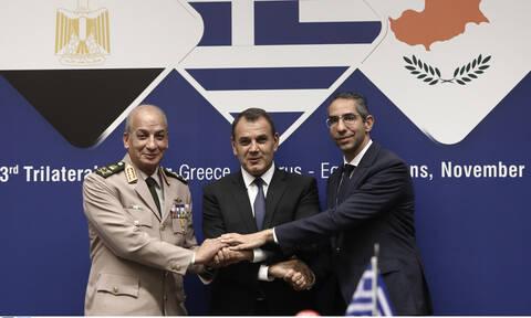 Ελλάδα, Αίγυπτος και Κύπρος καταδικάζουν τουρκικές προκλήσεις και εισβολή στη Συρία