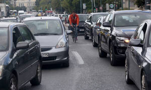 Κίνηση στους δρόμους: «Κόλαση» και πάλι η Αθήνα - Ποιους δρόμους να αποφύγετε
