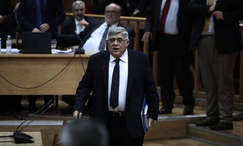 Golden Dawn leader Michaloliakos takes the stand in historic trial