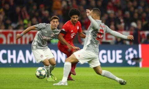 Μπάγερν Μονάχου – Ολυμπιακός LIVE 2-0: Λεπτό προς λεπτό η «μάχη» στην «Allianz Arena»