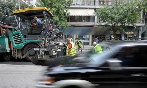 Αττική: Ασφαλτοστρώσεις από τον δήμο Αθηναίων σε 127 δρόμους της πόλης