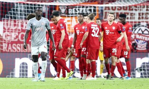 Μπάγερν Μονάχου – Ολυμπιακός 2-0: Τα highlights του αγώνα στο Μόναχο!