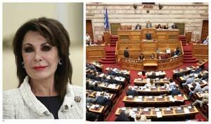 Πανηγυρική έναρξη της Επιτροπής «Ελλάδα 2021» στη Βουλή – Η ομιλία της Γιάννας Αγγελοπούλου (vid)