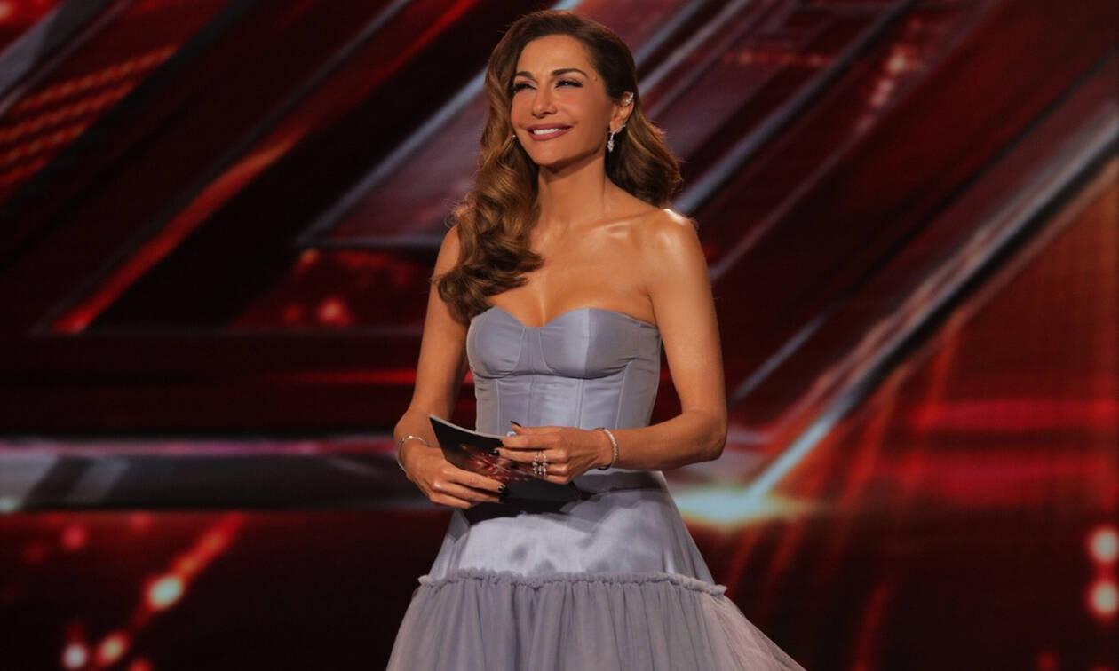 X Factor: Παραμυθένια εμφάνιση για τη Δέσποινα Βανδή στο αποψινό live (photos)