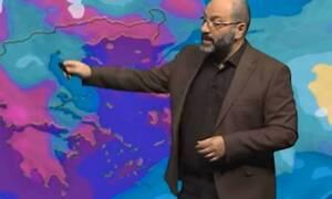Καιρός: Προσοχή! Νέα επιδείνωση από το Σάββατο. Η προειδοποίηση του Σάκη Αρναούτογλου (video)