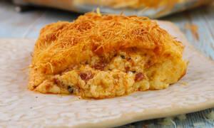 Η συνταγή της ημέρας: Σουφλέ με κανταΐφι