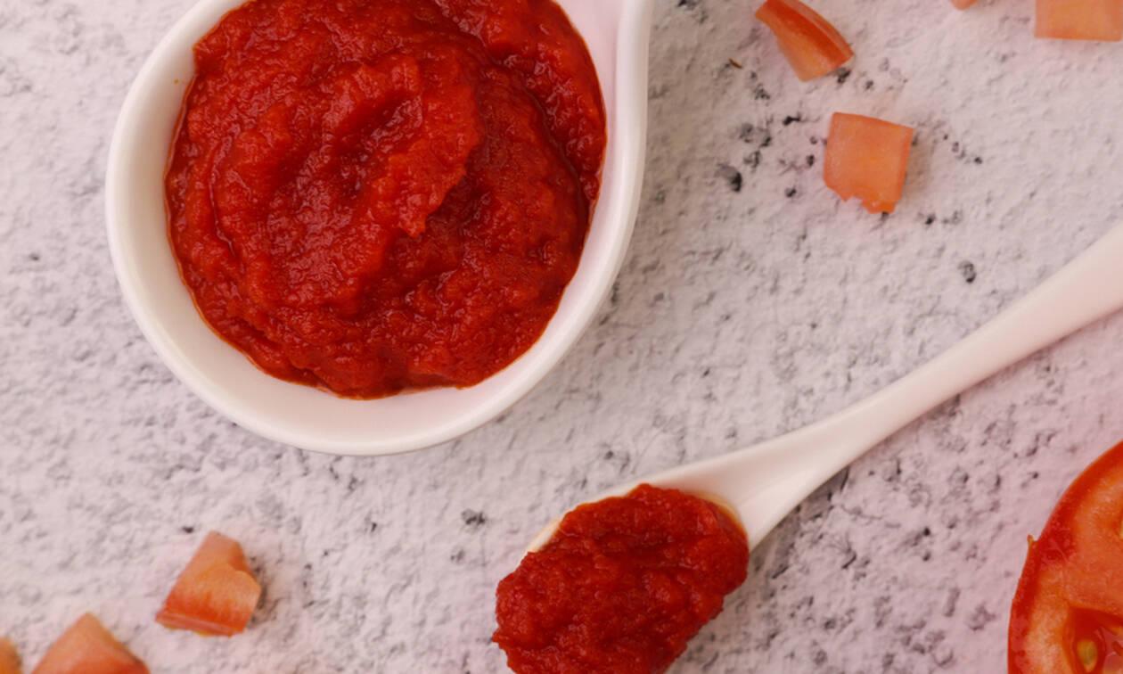 Φτιάξτε σπιτικό πελτέ ντομάτας