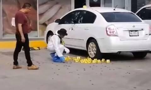 Βίντεο σοκ: «Γάζωσαν» τον αστυνομικό που συνέλαβε τον γιο του «Ελ Τσάπο» με 155 σφαίρες