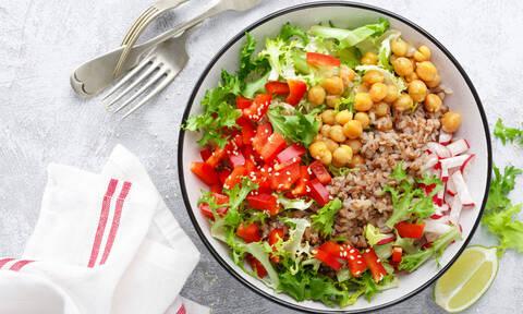 Χορτοφαγική διατροφή: 7 λόγοι που αυξάνει το προσδόκιμο ζωής (εικόνες)
