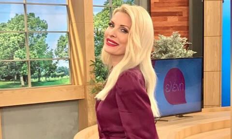 Η Ελένη Μενεγάκη φόρεσε τις μπότες που όλες θέλουμε στην ντουλάπα μας το φετινό χειμώνα