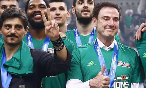Δ. Γιαννακόπουλος: «Η συμφωνία με Πιτίνο έρχεται να προστεθεί σε ένα πρωτάθλημα με υγεία»
