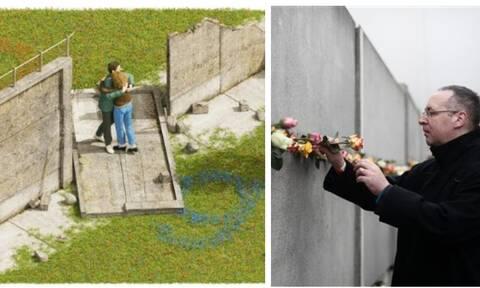 30η επέτειος από την πτώση του Τείχους του Βερολίνου: Δείτε το doodleτηςGoogle (pics)