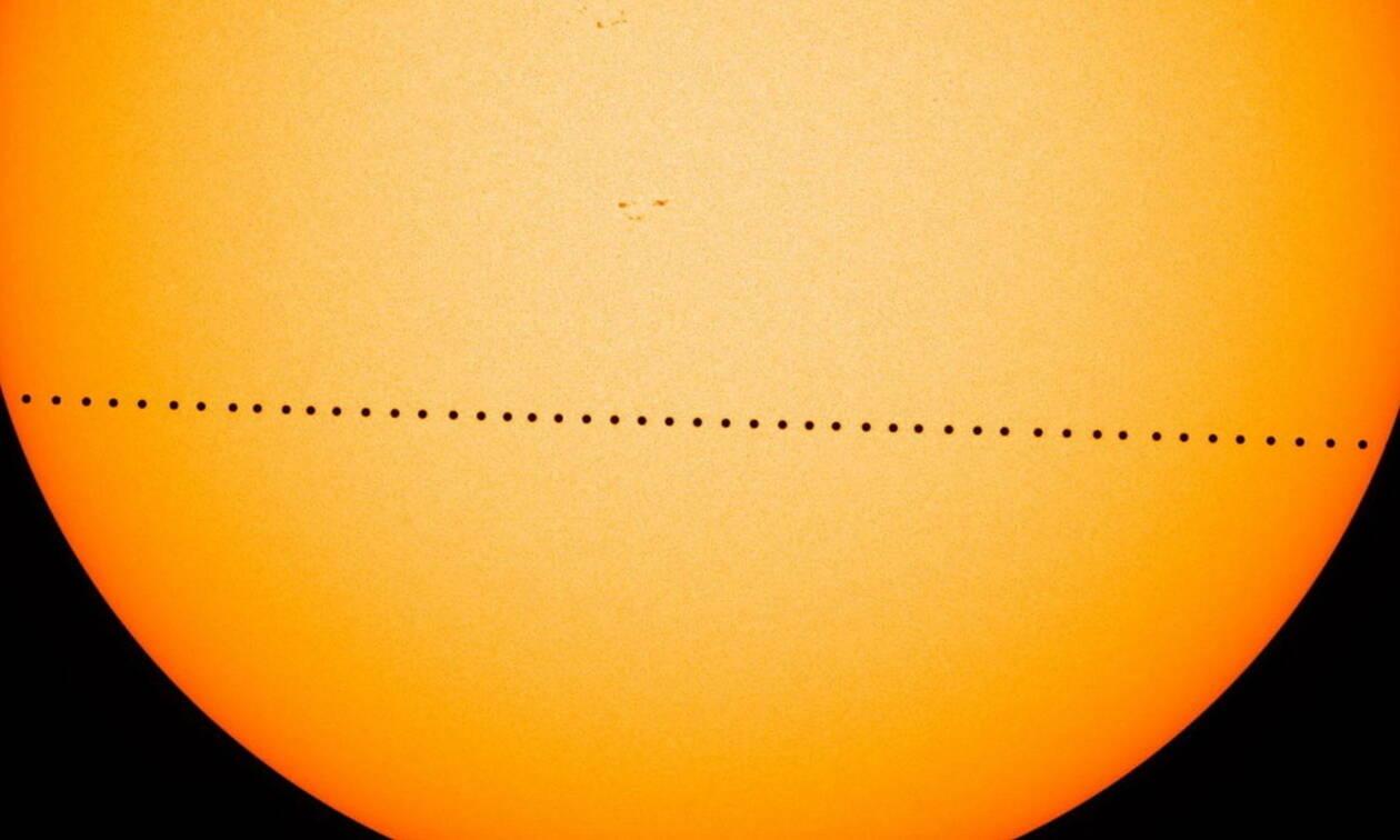 Σπάνιο φαινόμενο τη Δευτέρα: O Ερμής θα περάσει μπροστά από τον Ήλιο - Ορατό και από την Ελλάδα