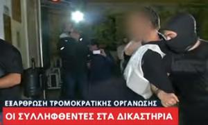 Επαναστατική Αυτοάμυνα: Στον εισαγγελέα με απίστευτες ύβρεις οι συλληφθέντες - «Γα@@ το σπίτι σας»