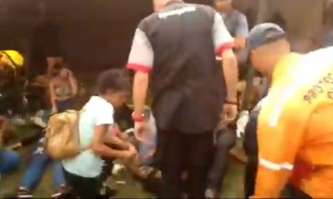 Τραγωδία σε συναυλία: Μια νεκρή και 19 τραυματίες από ποδοπάτημα (ΠΡΟΣΟΧΗ: Σκληρές Εικόνες)