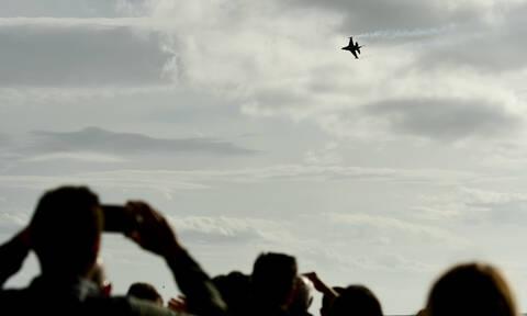 Μαχητικά αεροσκάφη: Γιατί πέταξαν πάνω από την Αθήνα; Δείτε την απάντηση