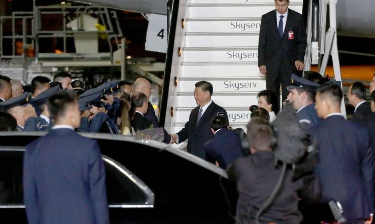 Στην Αθήνα ο Πρόεδρος της Κίνας Σι Τζινπίνγκ για εμπορικές και επενδυτικές συμφωνίες