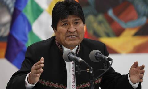 Βολιβία - Αρχηγός αστυνομίας: Δεν έχει εκδοθεί ένταλμα σύλληψης κατά του Έβο Μοράλες
