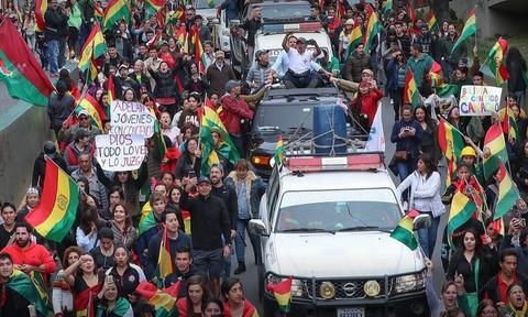 Мексика предложила убежище экс-президенту Боливии Эво Моралесу