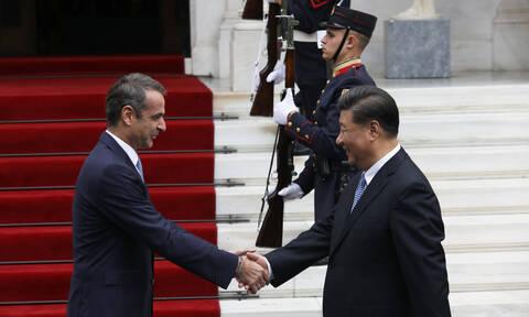 Μητσοτάκης σε Σι Τζινπίνγκ: Νέα εποχή για Ελλάδα και Κίνα – Οι 16 συμφωνίες που θα υπογράψουν