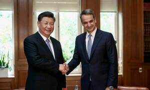 Συνάντηση Μητσοτάκη – Σι Τζινπίνγκ: Η εμπιστοσύνη ανάμεσα στην Ελλάδα και την Κίνα είναι δεδομένη