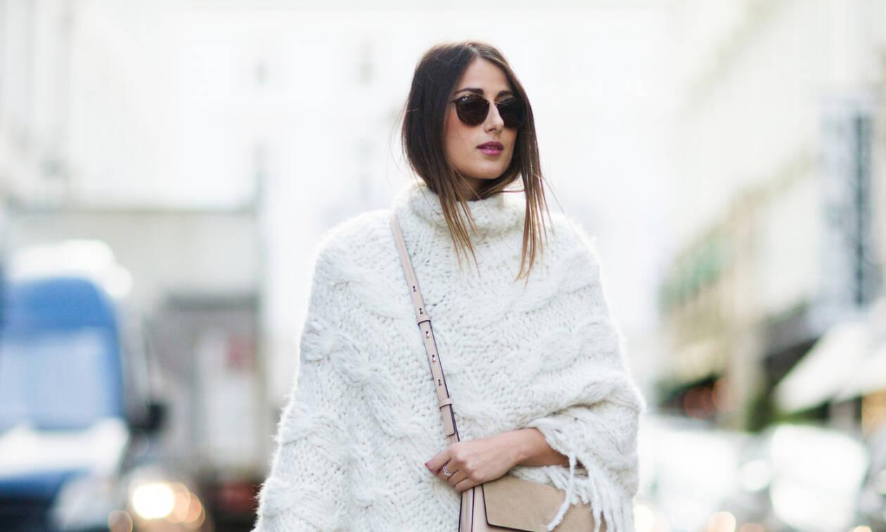 Δε θες να φορέσεις μπουφάν; 5 εναλλακτικά πανωφόρια για αυτή την εποχή