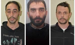 «Επαναστατική Αυτοάμυνα»: Αυτοί είναι οι δυο συλληφθέντες και ο καταζητούμενος (pics)