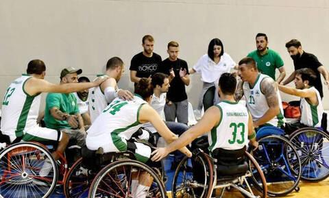 Συγκινητική βράβευση της ομάδας μπάσκετ με αμαξίδιο από τον Παναθηναϊκό!
