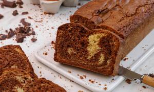 Η γλυκιά συνταγή της ημέρας είναι το κέικ βανίλιας - σοκολάτας