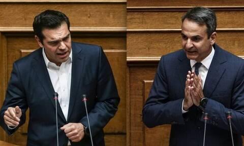 «Καζάνι που βράζει» η Βουλή - Ερώτηση Τσίπρα σε Μητσοτάκη: Τι θα κάνετε με τα εγκλήματα διαφθοράς;