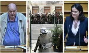 Τα επεισόδια της ΑΣΟΕΕ συνεχίζονται στη… Βουλή: Στα «χαρακώματα» Φίλης – Κεραμέως