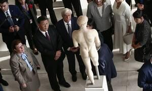 Παυλόπουλος σε Κινέζο πρόεδρο: «Σας προσφέρουμε ένα κομμάτι από την ψυχή μας»